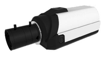 Охранная IP камера с микрофоном, Full HD при 25 к/с и WDR до 100 дБ